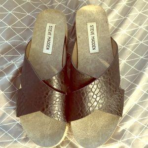 Steve Madden Haddie espedrille sandals.
